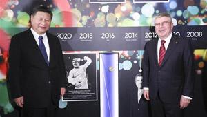 "Feature: Chinesischer Staatspräsident Xi ist ""wahrer Olympiasieger"", sagt IOC-Präsident"