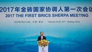 Erste Sherpa-Sitzung des 9. BRICS-Gipfels in Nanjing