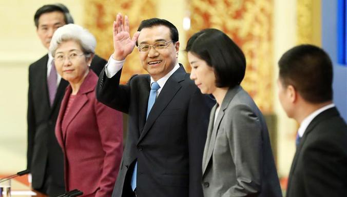 Ministerpräsident Li: Chinas Finanzsystem ist im Allgemeinen sicher