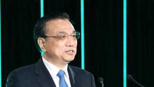 Li Keqiang nimmt an Willkommenslunch in Neuseeland teil