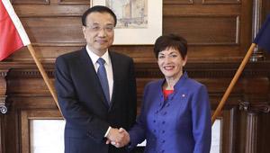 Li Keqiang trifft neuseeländische Generalgouverneurin in Auckland