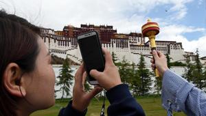 Touristische Hochsaison in Lhasa