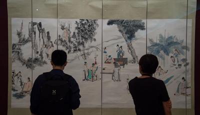 Ausstellung über Werke von Zhang Daqian in Macau veranstaltet