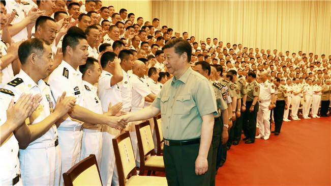 """Xi fordert """"starke und moderne"""" Marine"""