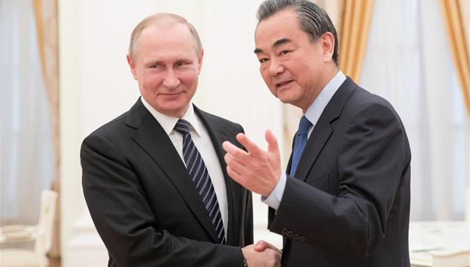 Putin trifft Wang Yi in Moskau