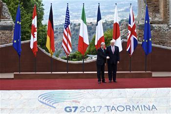 Eröffnungszeremonie des G7-Gipfels in Italien