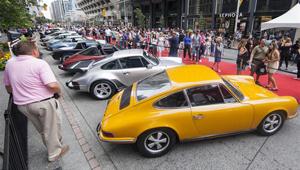 7. Jährliche Yorkville Exotische Autoausstellung in Toronto