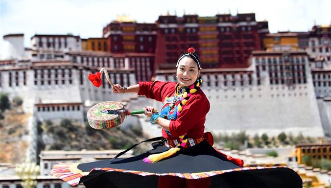 Tibet: Überlieferung des Reba-Tanzes