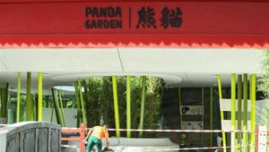 Neue Villa für chinesische Pandas im Berliner Zoo gebaut