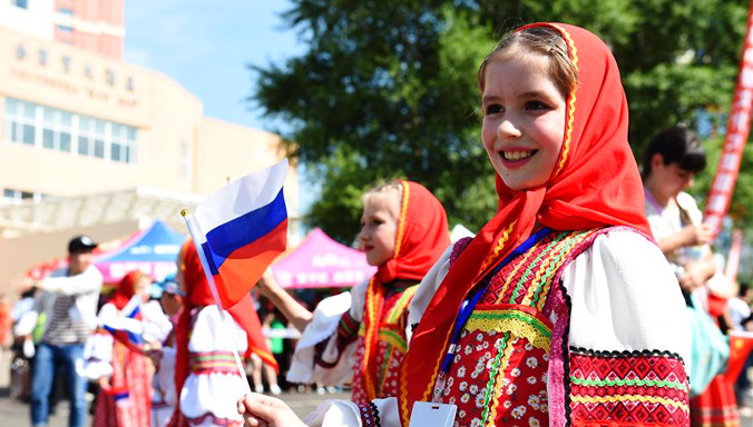 8. China-Russland-Kulturmarkt in Heilongjiang abgehalten