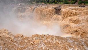 Hukou-Wasserfall in Linfen