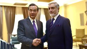 Wang Yi trifft afghanischen Chief Executive in Kabul