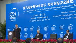 6. Weltfriedensforum in Beijing abgehalten