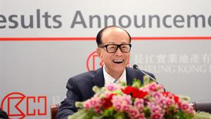 Li Ka-shing nimmt Exklusivinterview mit Xinhua an