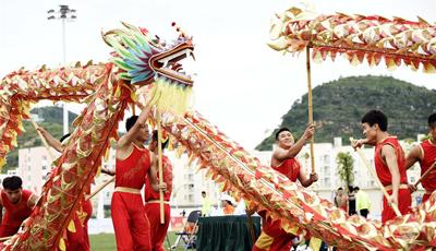 2. Drachentanz-Wettbewerb in Guizhou abgehalten