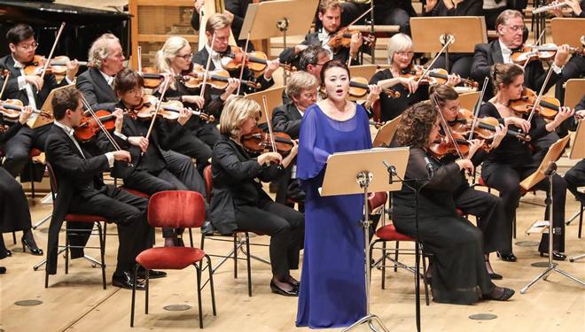 """Sinfoniekonzert """"China Story: Die Lieder der Erde"""" in Berlin abgehalten"""