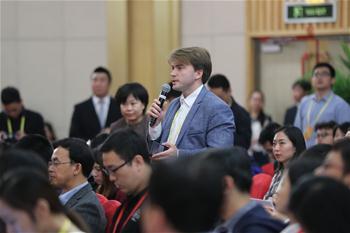 Pressezentrum des 19. Parteitags der KPCh hält Pressekonferenz ab