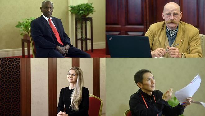 Ausländische Linguisten übersetzen und bearbeiten den Bericht von Xi Jinping