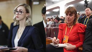 Ausländische Journalisten beim 19. Parteitag der KPCh