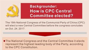 Wie wird das Zentralkomitee der KPCh gewählt?