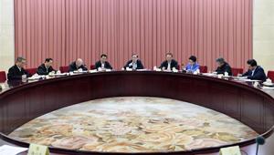 Yu Zhengsheng hält Vorsitz über Sitzung zum Verstehen der Bedeutung des 19. Parteitages der KPCh
