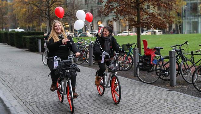 Mobike in Deutschland eingeführt