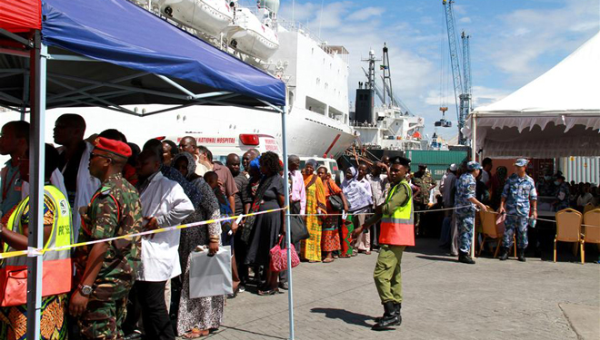 Chinesisches Friedensarche bietet in Tansania kostenfreien medizinischen Service an