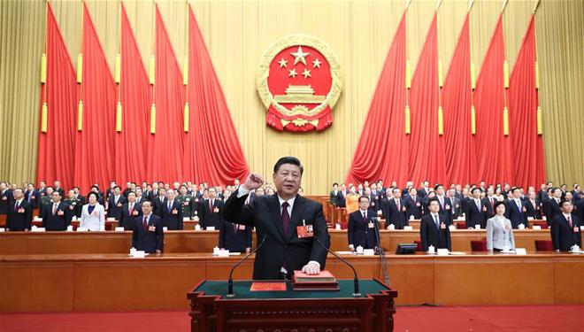 Xi Jinping zum chinesischen Staatspräsidenten und Vorsitzenden der ZMK der Volksrepublik China gewählt