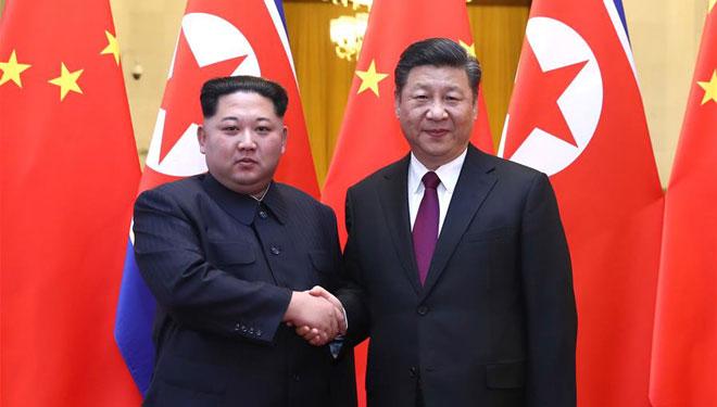 Xi Jinping, Kim Jong Un führen Gespräche in Beijing