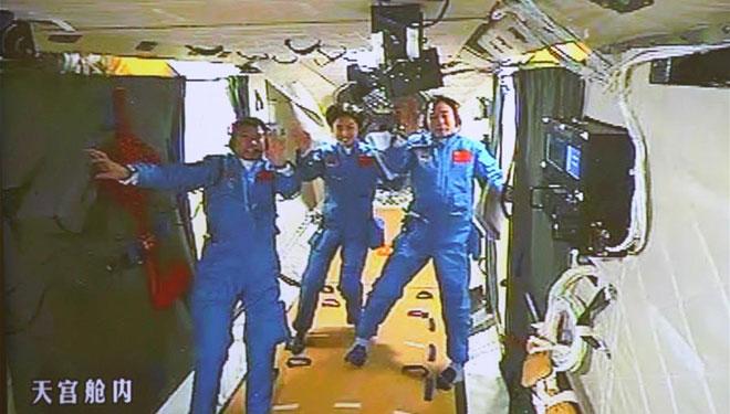 Abschied vom Weltraumlabor Tiangong-1