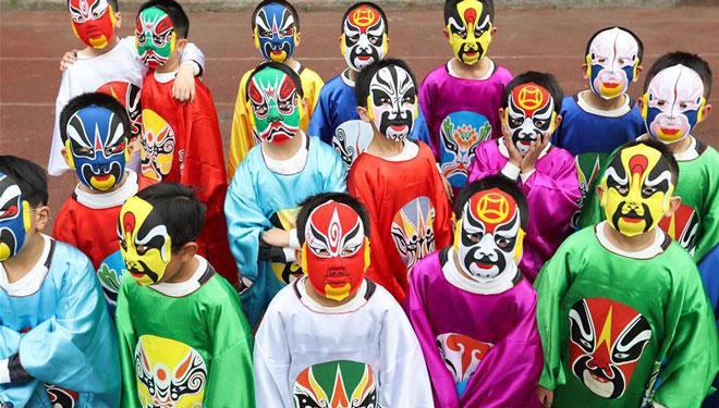 Klassische kulturelle Bildungsaktivität in Chengdu abgehalten