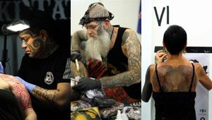 26. Internationale Tattoo-Convention in Frankfurt am Main eröffnet