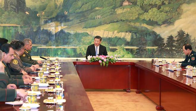 Xi: China gewillt, die pragmatische Kooperation mit SOZ-Mitgliedstaaten bei Verteidigung, Sicherheit zu vertiefen