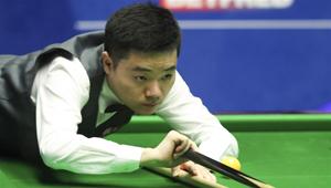 Erste Runde der Snookerweltmeisterschaft: Ding Junhui gegen Xiao Guodong