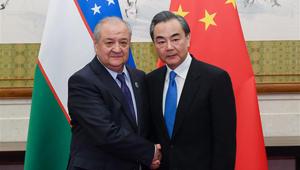 Wang Yi führt mit usbekischem Außenminister Gespräche