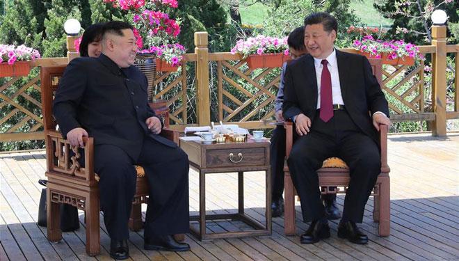 Xi Jinping, Kim Jong Un führen Gespräche in Dalian