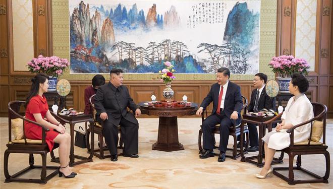 Xi Jinping trifft Kim Jong Un in Beijing