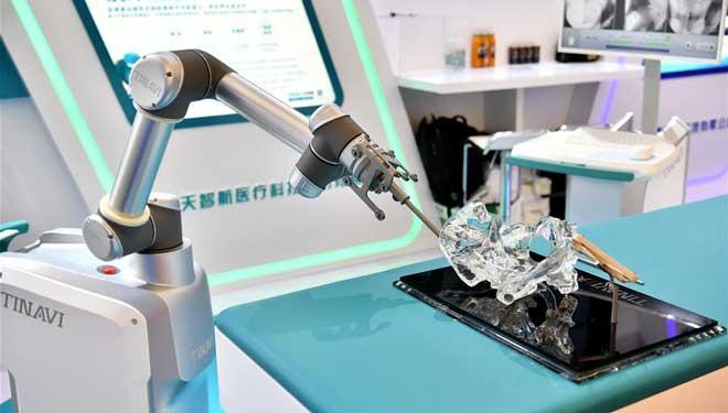 Welt Roboter Konferenz 2018 eröffnet in Beijing