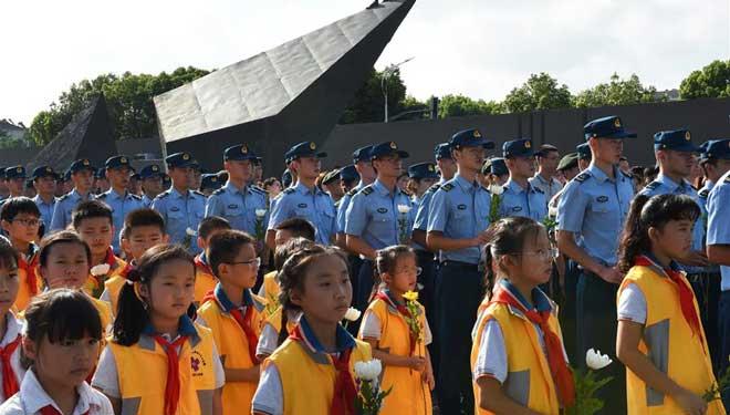 China markiert den 73. Jahrestag der Kapitulation Japans im Zweiten Weltkrieg