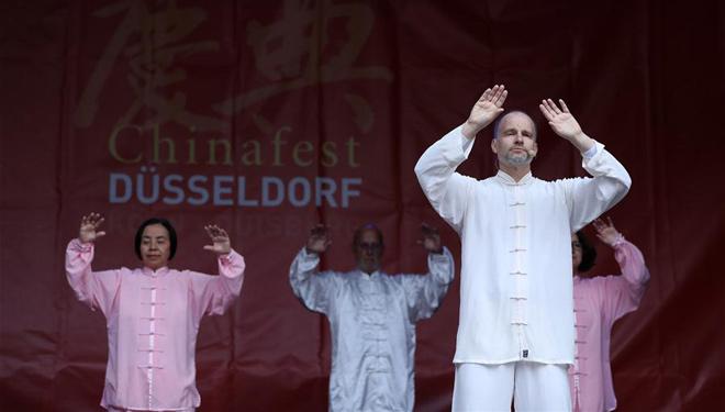 Chinafest zieht Zehntausende von Touristen in Deutschland an