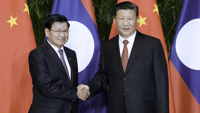 Xi Jinping trifft laotischen Premierminister in Shanghai