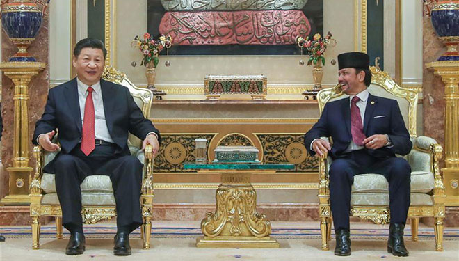 China, Brunei verstärken Beziehungen zu strategischer Kooperationspartnerschaft