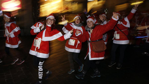 Santa Run in Bern