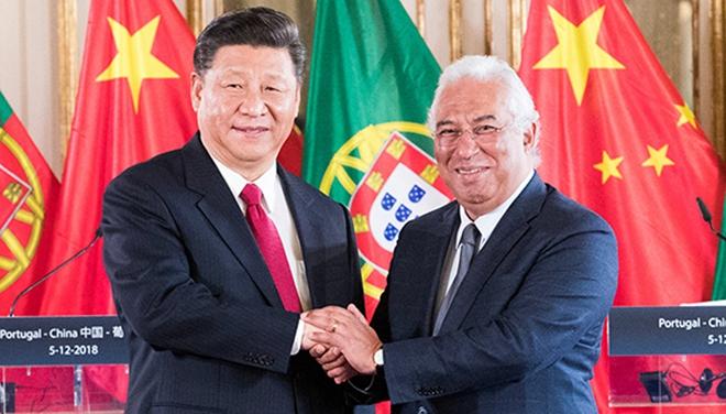 Xi Jinping trifft portugiesischen Premierminister Antonio Costa
