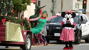Jährliche Boyle Heights Christmas Parade in Los Angeles