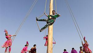 Shaghydi-Spiel macht Menschen in Xinjiang Spaß