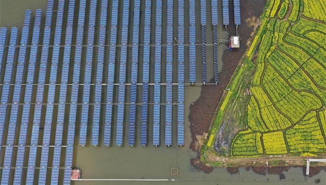 Photovoltaik-Kraftwerke zur Armutsbekämpfung in Hengyang errichtet