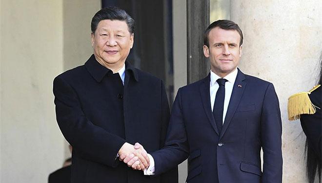 Xi führt Gespräche mit Macron in Paris