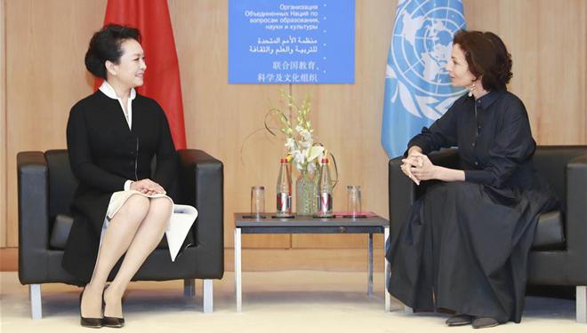 Peng Liyuan nimmt an Sondersitzung zur Mädchen- und Frauenbildung der UNESCO teil