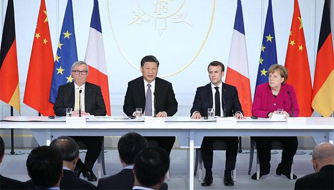Xi hält Rede bei Abschlusszeremonie des Global Governance Forum
